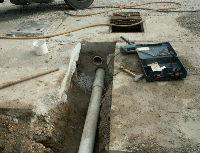 Piping Trench Construction