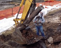 contaminated soil monitoring